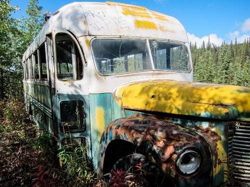 Bus Chris McCandless Bus 142 Te