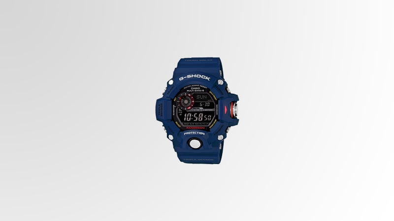 OutsideOnline G-Shock Rangeman GW9400NV-2 $300 long trek solar-powered watch durable elements mud shock water electronic compass altimeter barometer thermometer sunrise sunset alert