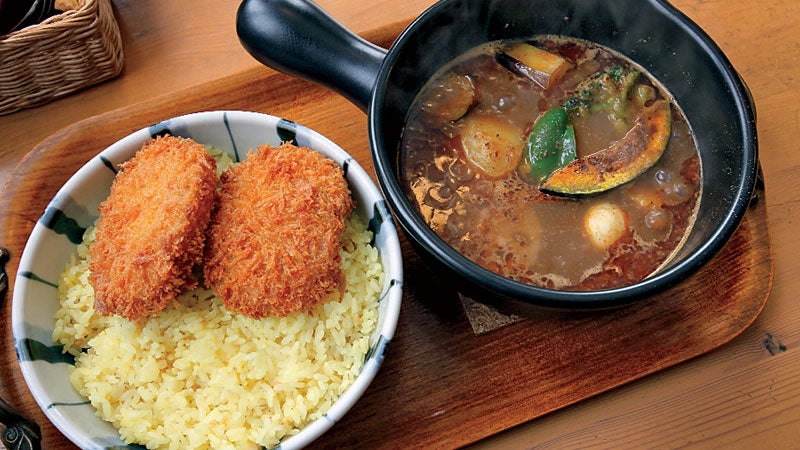 Soup curry is quite popular in Hokkaido and there are some of the best soup curry places in Niseko area.