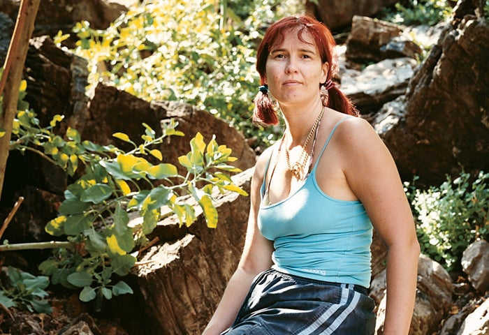 Support diver Verna van Schaik, who ran the recovery expedition from the surface.