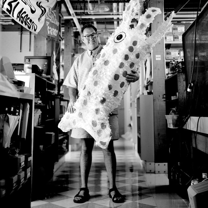 Outside July 2006 Humboldt sea shrimp squid ocean eery beast 20 mph human flesh expert William Gilly scientist with California lab creature underwater floatie toy blow-up laboratory