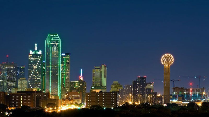 OutsideOnline worst cities outdoors Dallas night