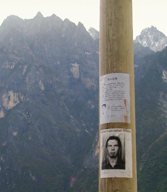 North Korea; Trekking; Vanished; OutsideOnline; Outside Magazine; David Sneddon; Missing; Mountains