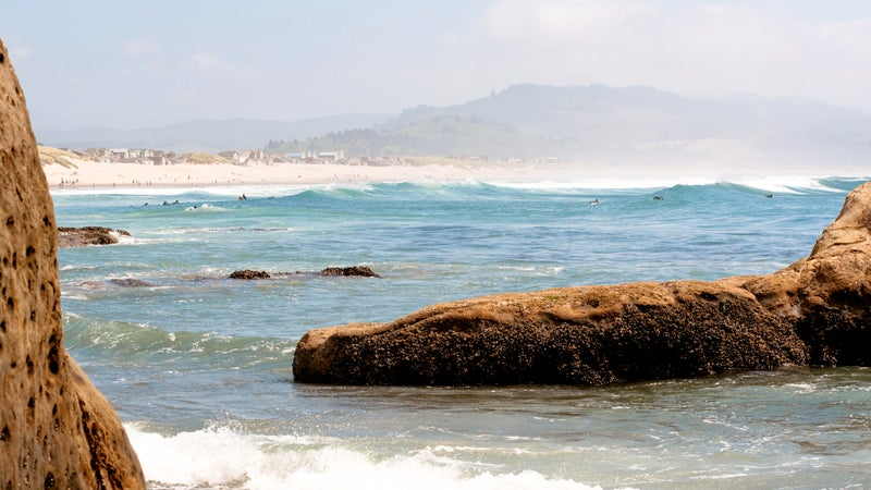 beach oregon pacific city pacific ocean