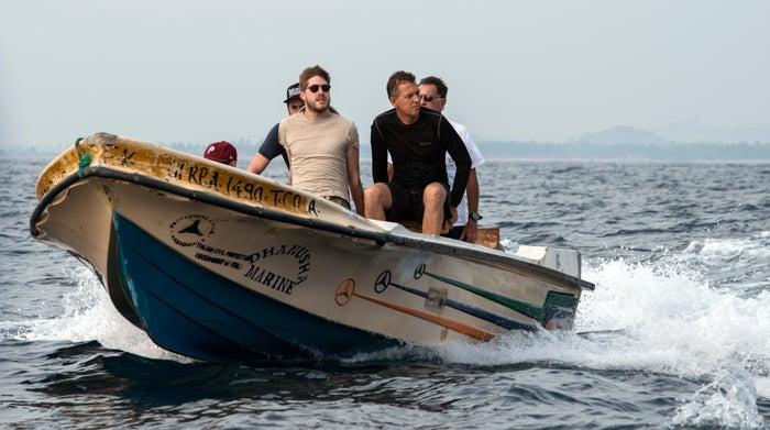 deep, james nestor, sperm whales, boat, film crew, guy gazzo, trincomallee, fabrice schnoller