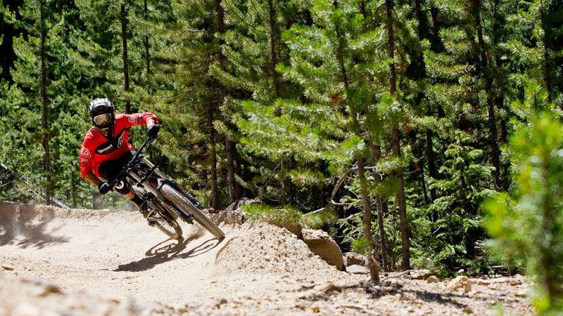 Action Activities Bike Biking Cycling Downhill Keystone Mountain Biking Summer Keystone keystone resort base camp Scenics ski basin ski slopes summer ski resort vail resorts outside magazine outside online