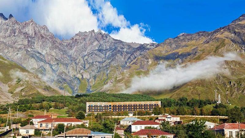 Rooms Hotel Kazbegi Georgia Tbilisi Caucasus Mountains Base Camp Chris Clayton Outside Outside Magazine Outside Online Escapes