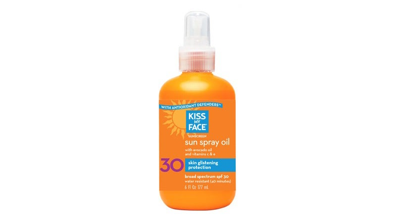 kiss my face sunscreen oil swimming hole essentials outside