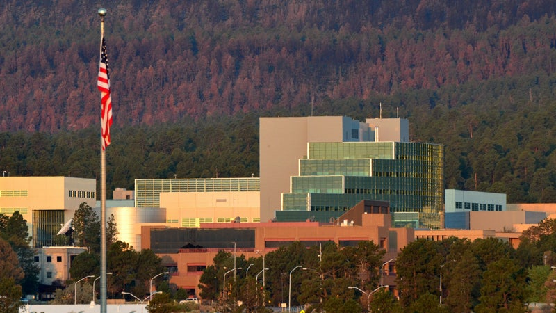 The Los Alamos National Laboratory, where discoveries are made.