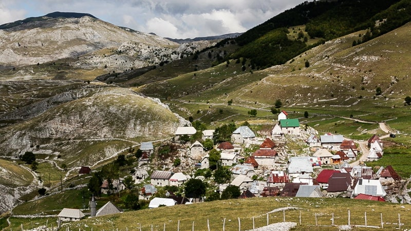 Lukomir is Bosnia and Herzegovina's highest inhabited village, located near Sarajevo on Bjelašnica Mountain. Residents still make a living here like they have for centuries: herding sheep.