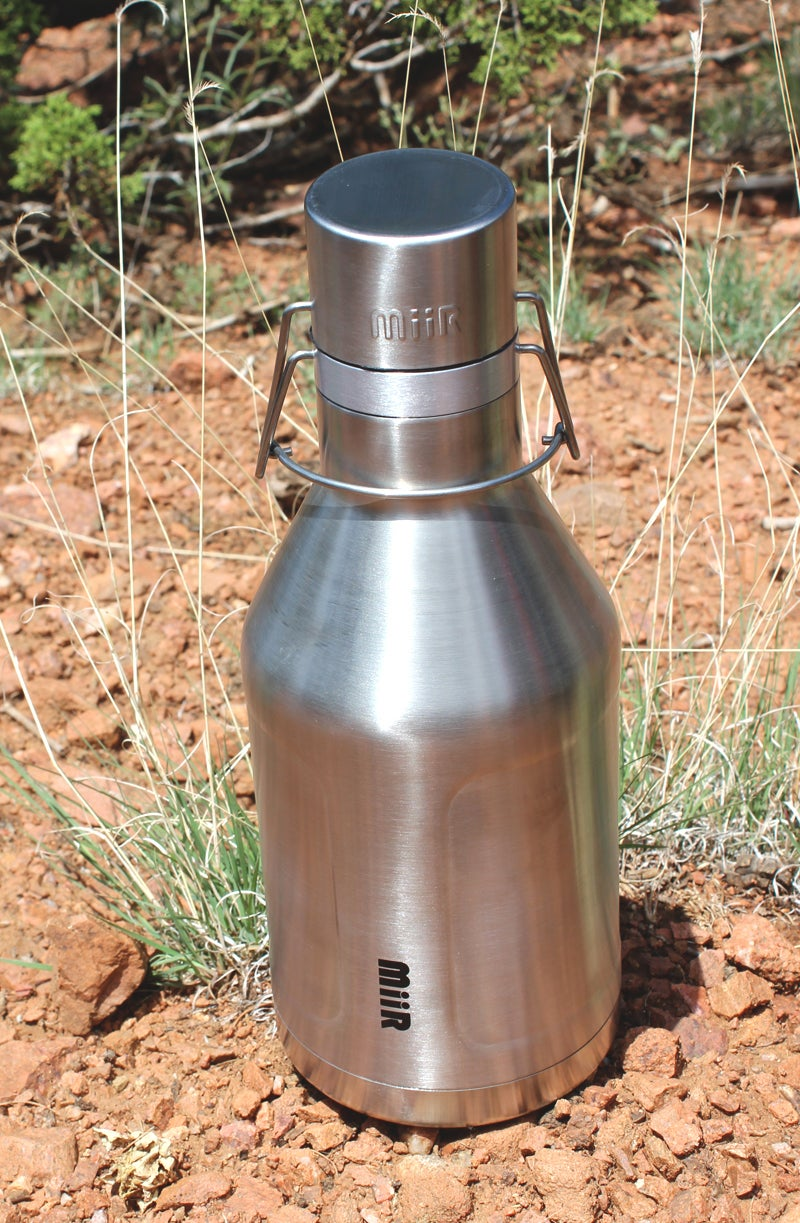 Hannah Weinberger outdoors outside magazine outside online MiiR growler stainless steel 64oz 64-ounce double wall vacuum insulated threadless water bottle test water bottle review