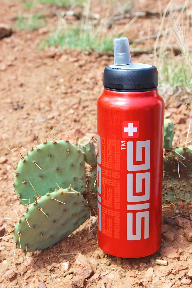Hannah Weinberger outdoors outside magazine outside online water bottle sports bottle stainless steel water bottle test water bottle review stainless-steel SIGGnificant sigg sigg active top lined aluminum pre-ventilation system