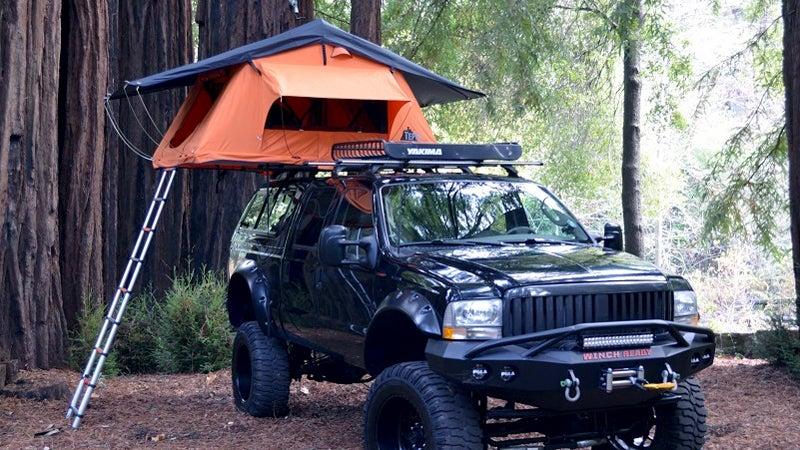 tents kukenam ruggedized rooftop tent gear outside