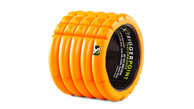 triggerpoint grid mini foam rol recovery tools gear outside fitness