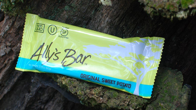 Ally's Bar Sweet Potatoes Cycling Female athletes food nutrition
