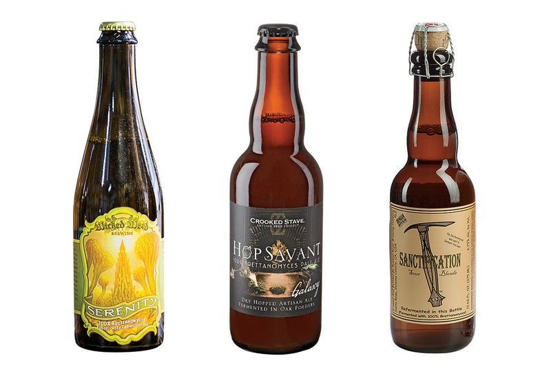 Wicked Weed Serenity Wild Ale Crooked Stave Hop Savant Russian River Sanctification beer