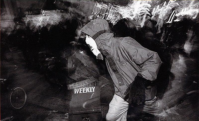 Eco-furor at the Nov 1999 anti-