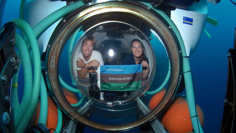 erika bergman, submarine pilot, national geogrphic young explorers grant, sedna epic expedition, female explorers, marine biology, engineering