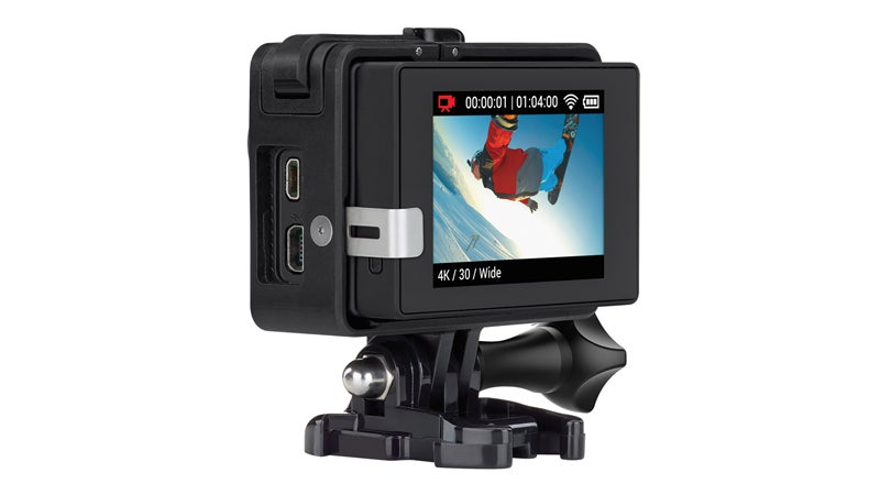 Frame HERO4 Black LCD BacPac gopro hero 4 outside action cameras gear review