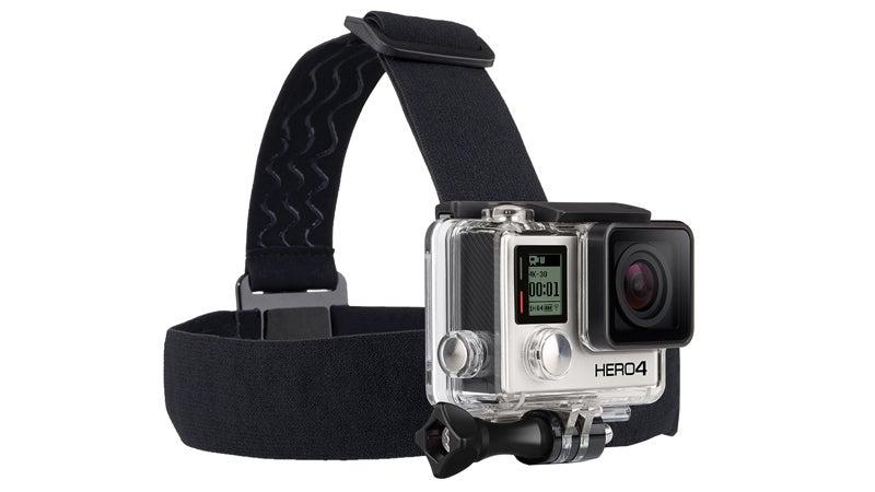Headstrap HERO4 Black Standard Housing gopro hero 4 action cameras gear review outside