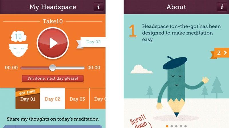 OutsideOnline tech gear apps meditation best Headspace