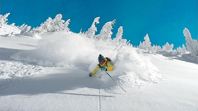 skiing destinations gear of the year winter buyers guide buyers guide king of the hill best terrain revelstoke british columbia big sky montana crested butte colorado jay peak snowbird third bowl shady chute tally ho glades teocalli