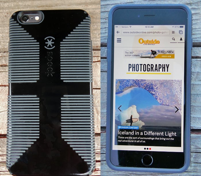 speck candyshell grip iPhone 6 Plus Rugged Phone Cases rugged cases outside outside magazine outside online gear shed pro shop