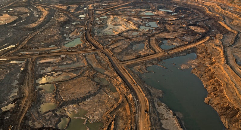 tar sands fort chip fort mckay canada oil first nation alberta oil sands ltd mining energy environment