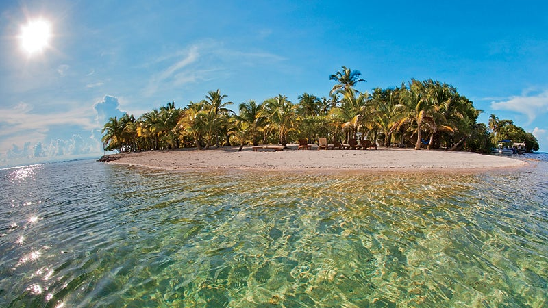South Water Caye Belize Cay travel destination tourism tourist travel