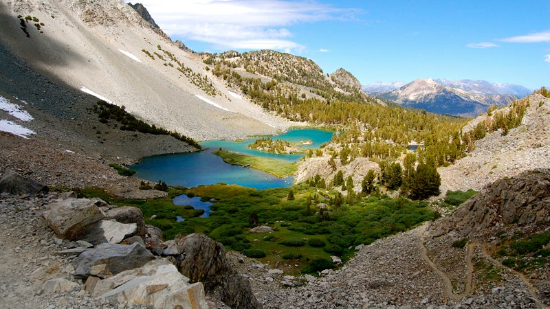 OutsidOnline mountain lake Mammoth Lakes California best towns high-altitude running