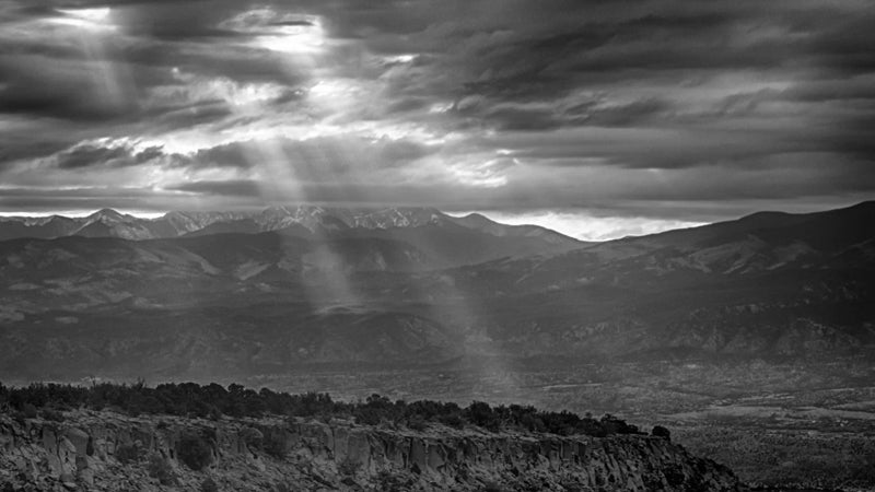 OutsideOnline mountain landscape Santa Fe New Mexico best towns high-altitude running