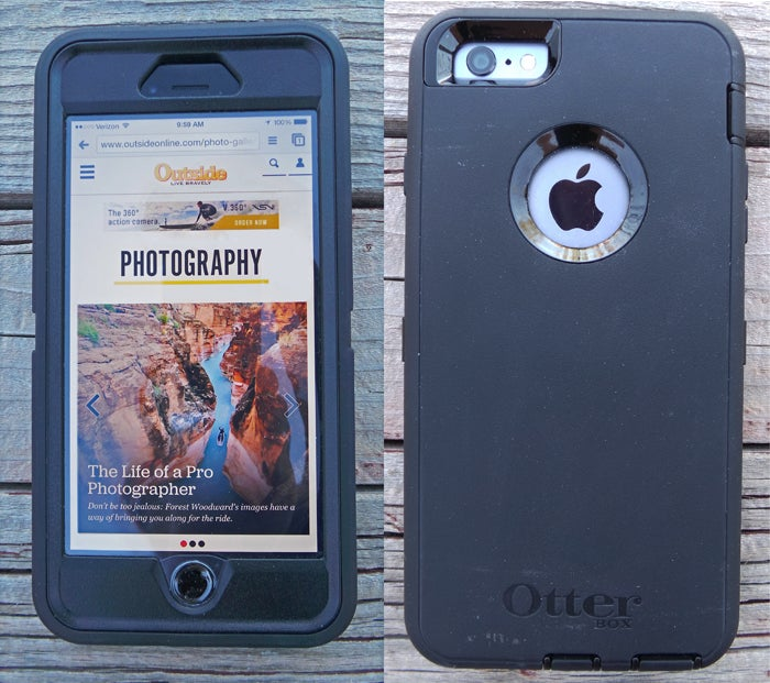 iPhone 6 Plus Rugged Phone Cases bevel port covers waterproof shatterproof water proof shatter proof outside outside magazine outside online gear shed pro shop matt bell best iphone cases
