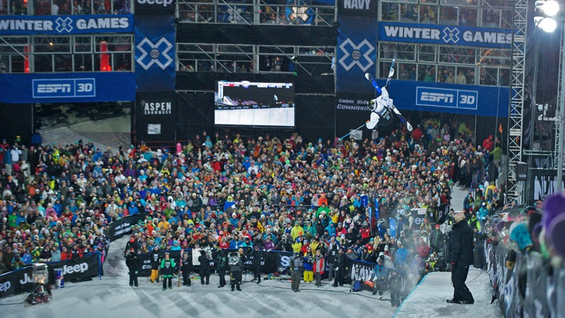 winter x games espn x games outside outside magazine outside online snow channel snow report skiing frederick reimers aspen buttermilk mountain snowmass