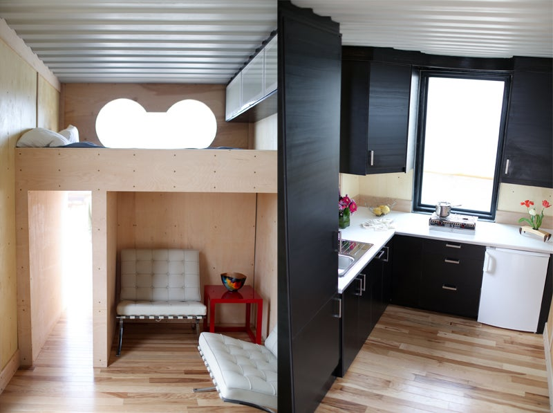 rhino cubed shelter shipping container shipping container house sustainable home gear shed generator off the grid outside outside online outside magazine tiny home zulu queen
