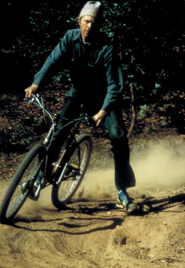 One of Fischer's earliest mountain bikes