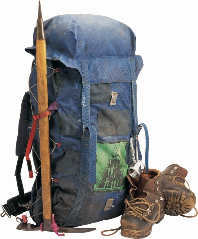 One of the first Lowe Alpine packs