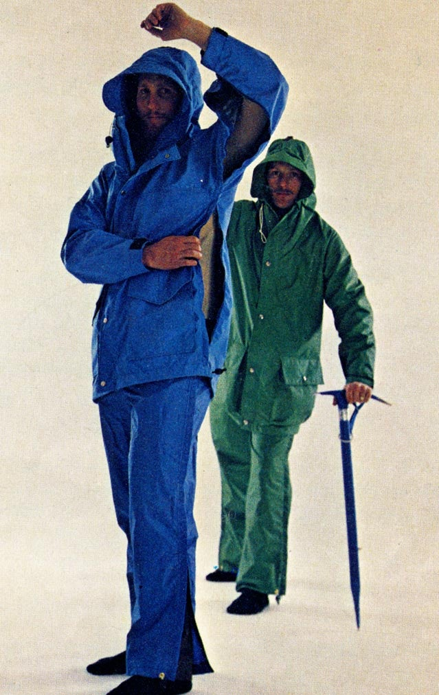 MSR rain jackets were the first to use pit zips