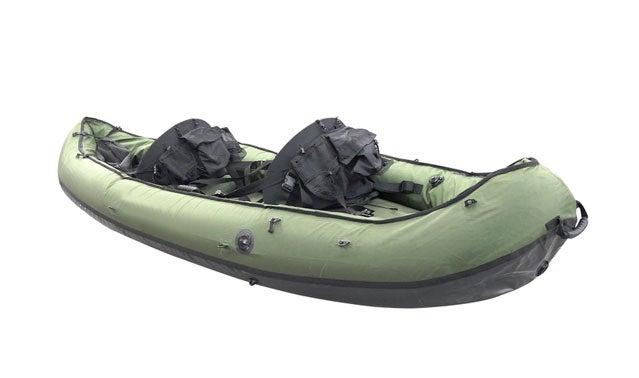 Inflatable raft