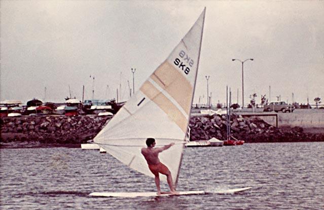 A SK8 Number One Windsurfer