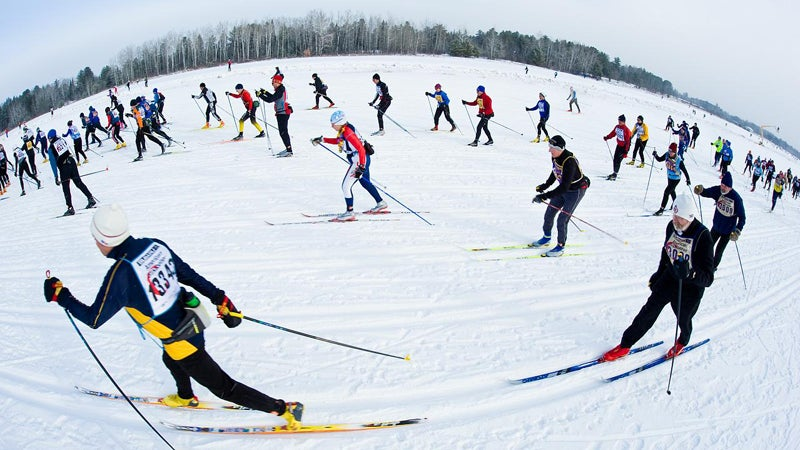 2009 American Birkebeiner nordic skiing