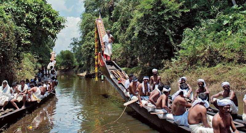 The Aranmula Boat Race india kerala travel