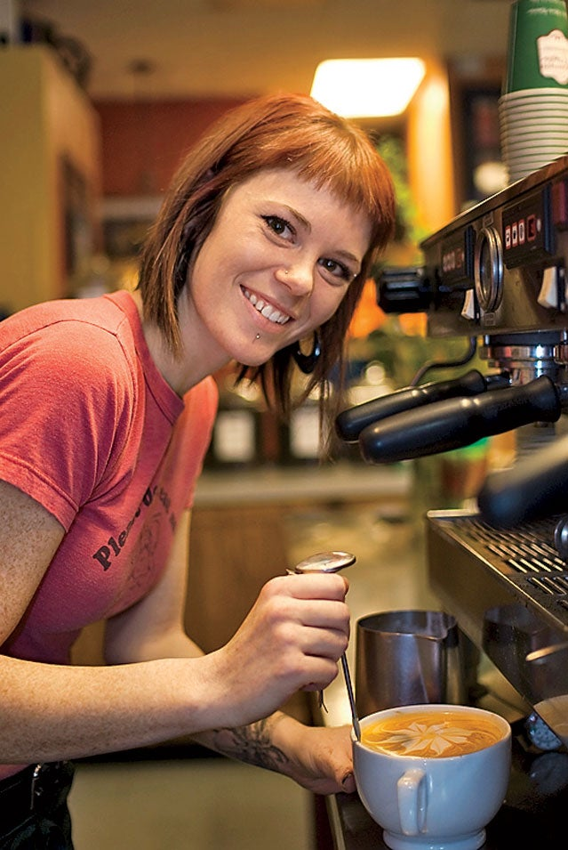 Dawson's coffee shop Boise.