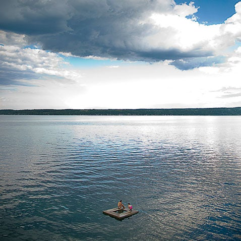 Cayuga Lake New York.