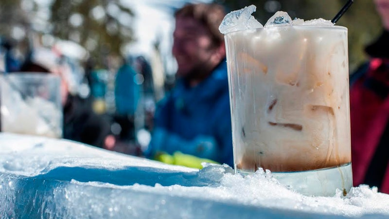 Crested Butte Mountain Resort ice bar