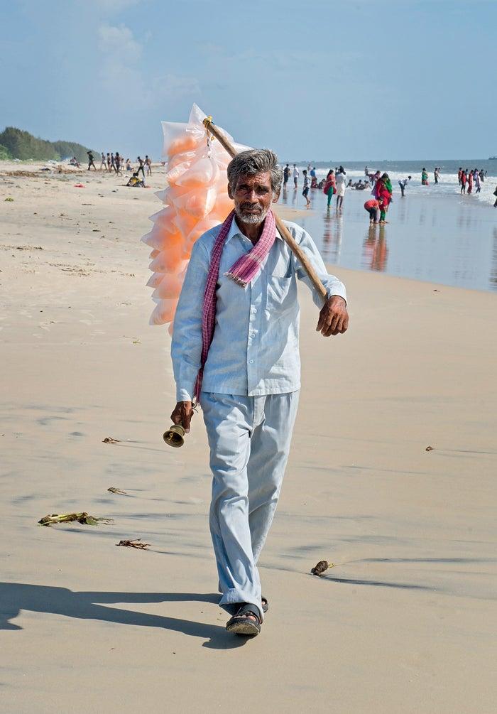 marari beach india kerala travel