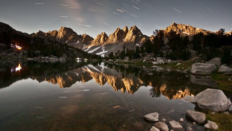 Kearsarge Pinnacles by Moonlight