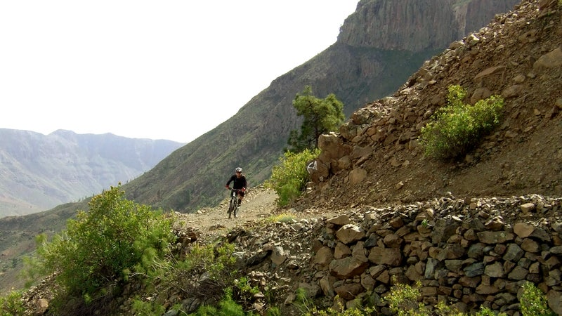 gran canaria spain mountain bike