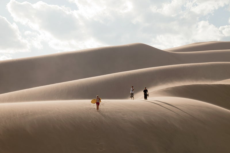 colorado great sand dunes national park  travel vacation outside magazine
