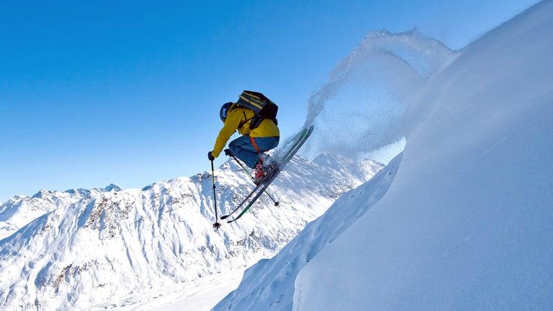 Heli skiing Majestic Heli Alaska jeremy Benson
