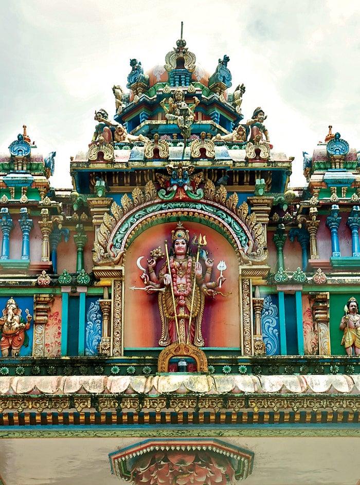 kerala india hindu temple travel